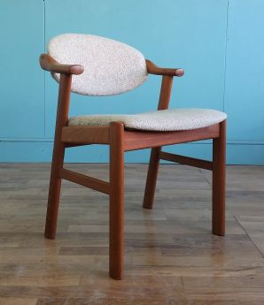 Danish mid century desk chair - SOLD